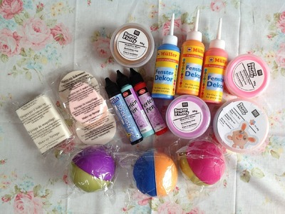 Small Haul: Homemade Squishy craft supplies and more ♡