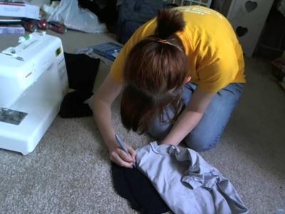 SWORDS & STITCHES: Resizing T-Shirts [DIY]