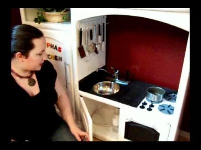 Tour of DIY Play Kitchen
