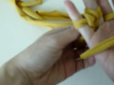 V and Co how to: jersey bracelet part 2