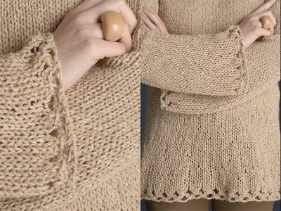 #17 Tapered Pullover, Vogue Knitting Early Fall 2011