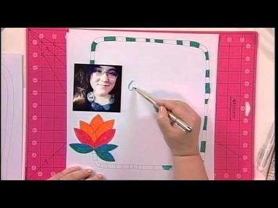 204-3 Host Julie Fei-Fan Balzer presents a lettering tutorial on Scrapbook Soup