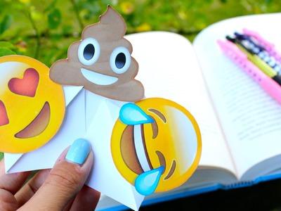 Back To School: DIY EMOJI BOOKMARKS +Giveaway!