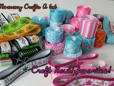 Craft Haul.Favorites (Sharing ribbon, bottlecaps, cameos and a NEW channel!)