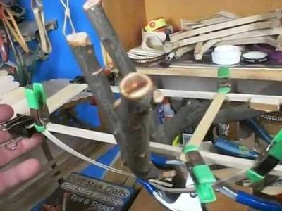Craft Stick Catapult, Tripod, Tree House, Elmers Glue & Food Grade Popsicle Sticks