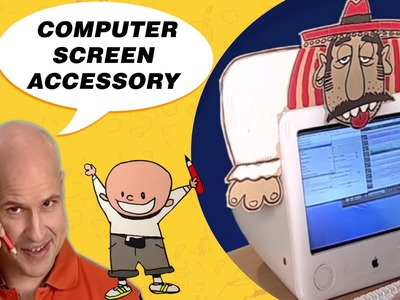 Crafts Ideas for Kids - Computer Screen Accessory | DIY on BoxYourSelf
