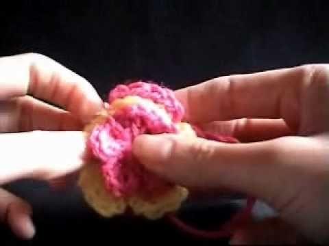 Crochet Easy Flower Crochet Tutorial