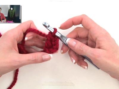 Crochet for Knitters - Double Crochet