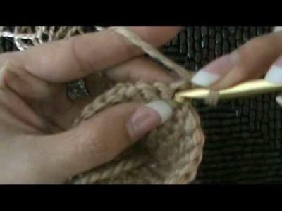 Crochet Fuzzy Bear Head #3