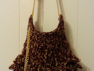 #Crochet Handbag Purse #TUTORIAL Stylish Crochet bag
