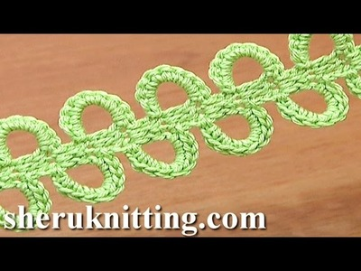 Crochet Ribbon Big Chain Spaces Tutorial 42