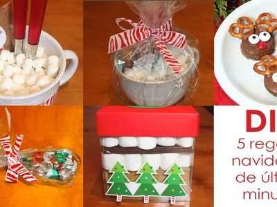 DIY- 5 last minute christmas gifts & treats!