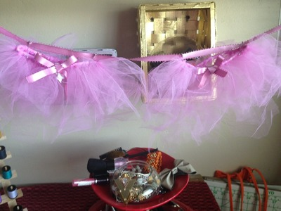 DIY: Baby Shower Tutu Decor