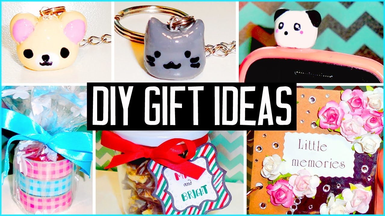 DIY gift ideas! Make your own cheap & cute presents! Christmas.Birthdays