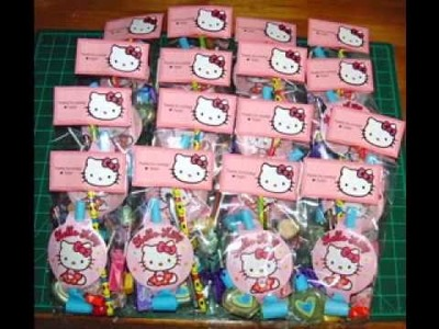 DIY Hello kitty birthday party decorating ideas