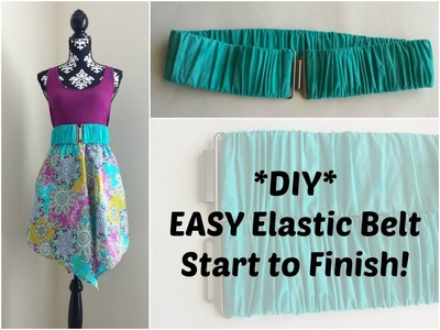 DIY: How to Make An Elastic Belt