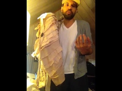 DIY mummy costume tutorial
