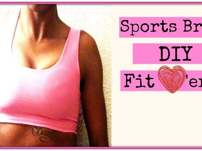 DIY Sports Bra I Easy Beginner Sewing