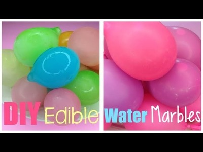 DIY Water Marbles You Can Eat