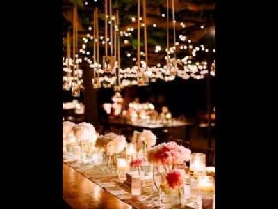 DIY Wedding lighting decorating ideas
