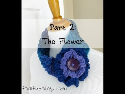 Episode 22: How to Crochet the Tweedy Puff Stitch Earwarmer, Part 2: The Flower