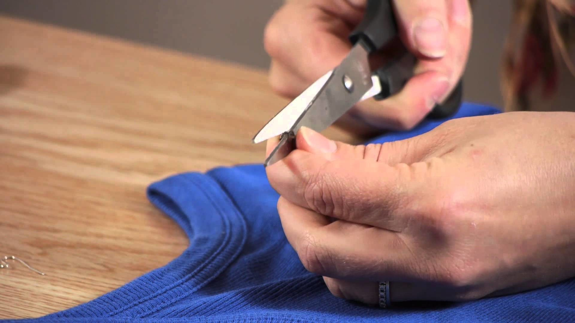 How to Attach a Bead Necklace to a Shirt : Shirt Crafts
