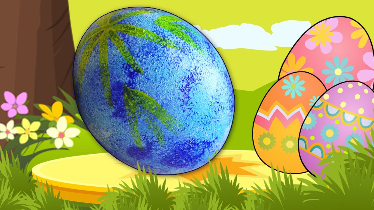 How to Decorate An Easter Egg | Easy DIY Easter Egg Decoration |Easy Easter Arts & Crafts