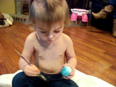 How to Dye or Paint Easter Eggs the Easy Way!   - Lilah