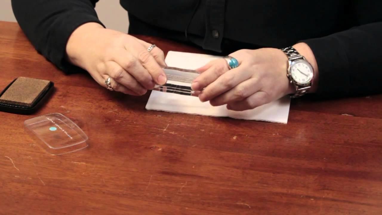 How to Imprint Napkins : Craft & Decoration Tips