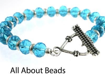 How to Make a Basic Beaded Bracelet