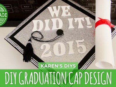 How to Make a DIY Graduation Cap Design - HGTV Handmade