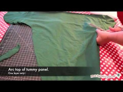 How to Make a Swaddler From a T-Shirt