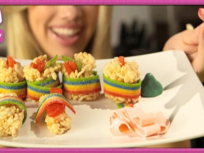 How to Make Candy Sushi - 2 DIY For Ep 31