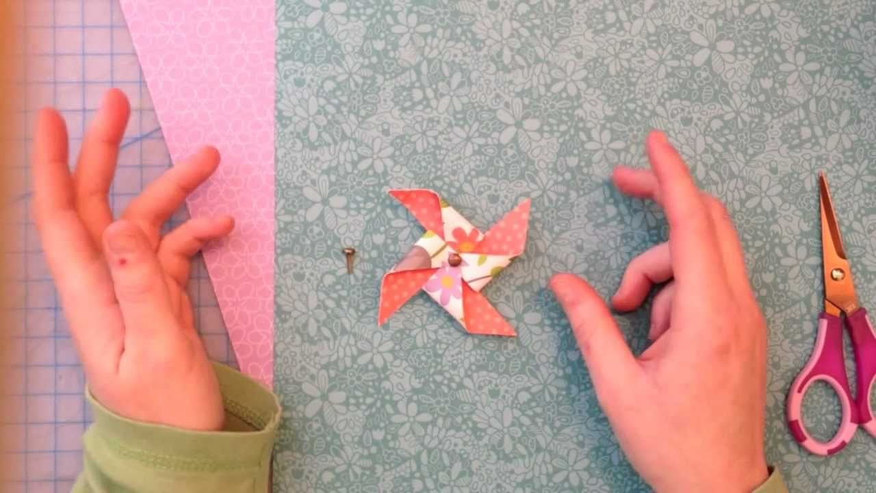 How to make pinwheels { Lawn Fawn }