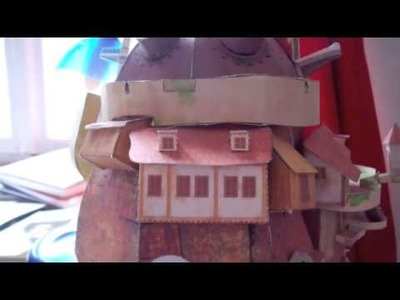 Howl's Moving Castle papercraft