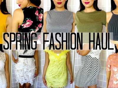 HUGE TRY-ON SPRING FASHION HAUL 2015 | FOREVER21