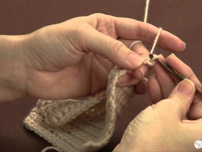 Learn to Crochet: the slip stitch