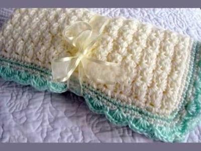 Links to Free Crochet Pattern Weekend Baby Blanket