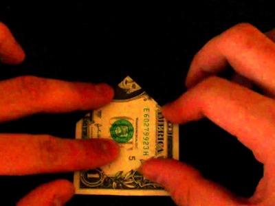 Money origami bow tie