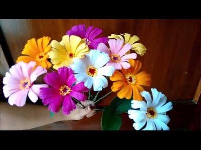 Paper flower - Zinnia
