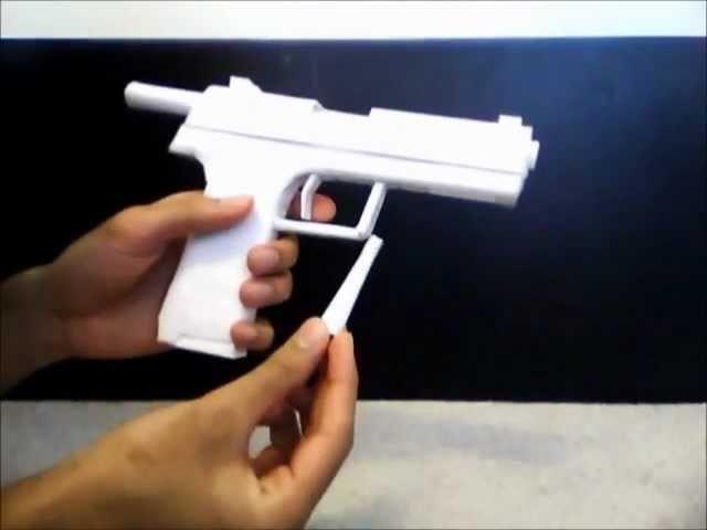 Paper Pistol: H&K USP
