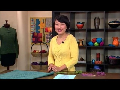 Preview Knitting Daily TV Episode 1005 - Lofty Lux
