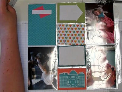 Project Life by Stampin Up Scrapbook Layout