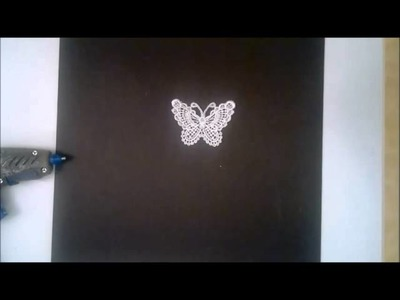 Super quick and easy tip.tutorial on how to make a beaded feather body for your  butterflies
