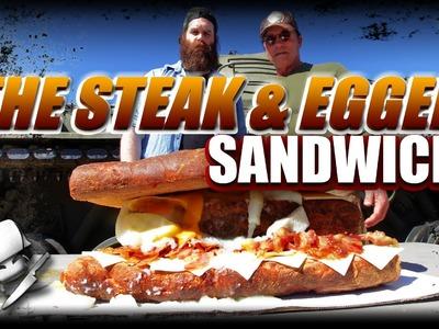 The Steak & Egger Sandwich - Epic Meal Time w. Arnold Schwarzenegger