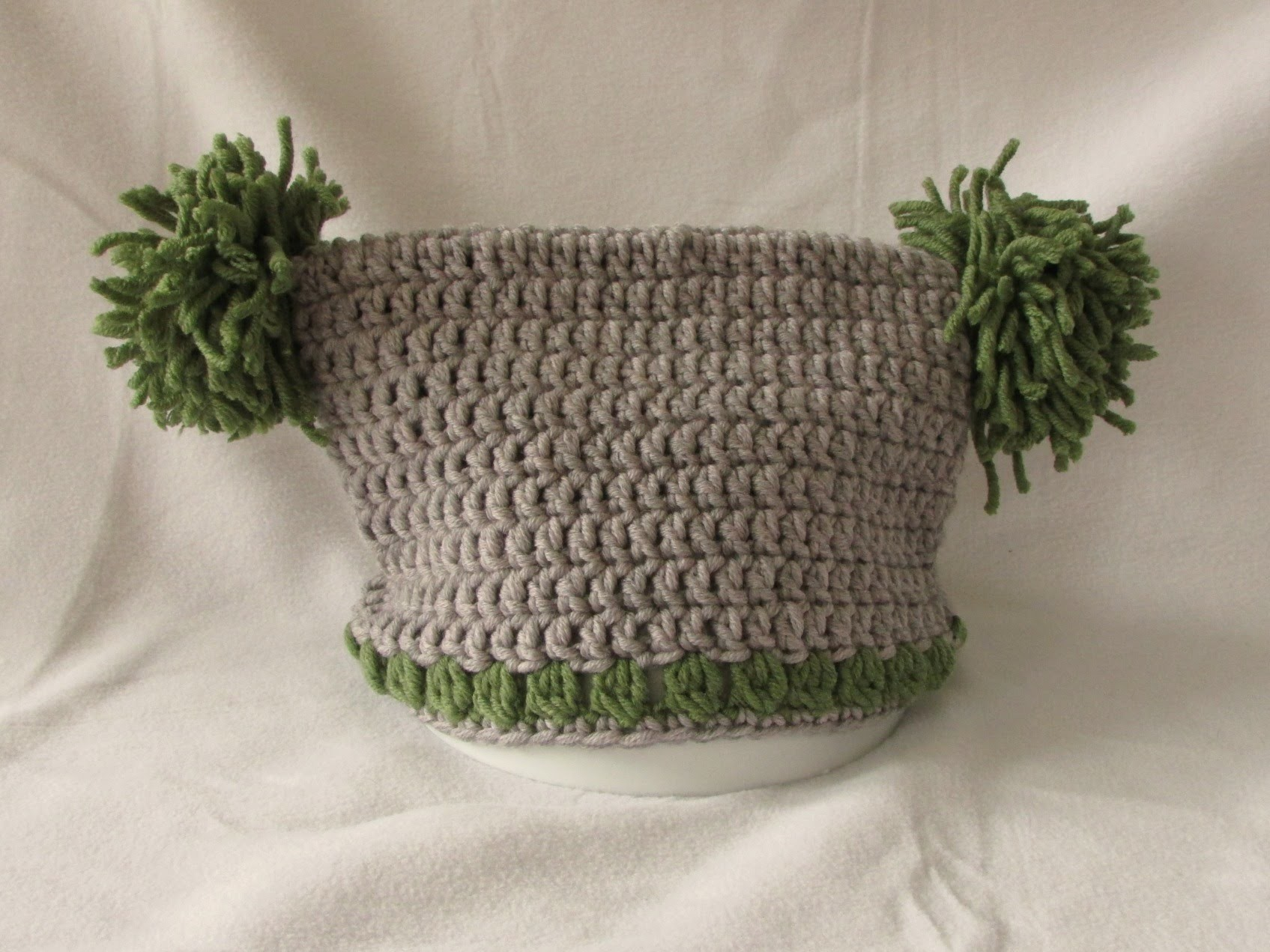 VERY EASY crochet jester. square hat tutorial - all baby. child's sizes