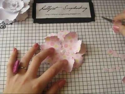 Zahra-Paper Flower 2 New tutorial