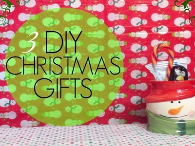 3 Last Minute DIY Christmas Gifts!