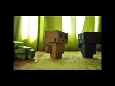 A short papercraft Danbo film I made XD