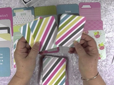 ASMR: Sorting and Describing Project Life Scrapbooking Cards, Softly Spoken